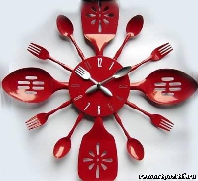 Часы для кухни фото своими руками