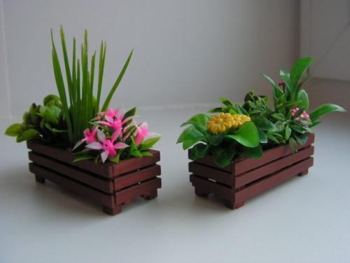 Ящики для цветов своими руками фото