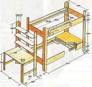 Как сделать низкую кровать