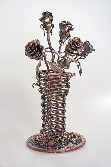 Напольные вазы своими руками: 50 идей неповторимого декора