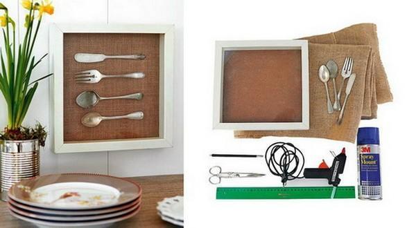 Рамки для фото на кухню своими руками 274