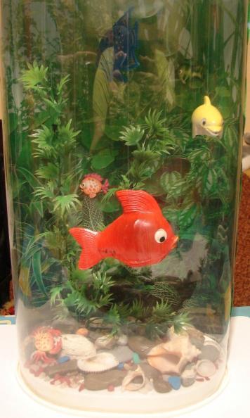Как сделать своими руками рыбку в аквариуме
