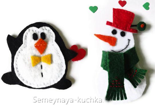 Сделать игрушку снеговика своими руками