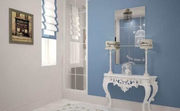 Маленькая гардеробная комната (116 фото из кладовки) 38