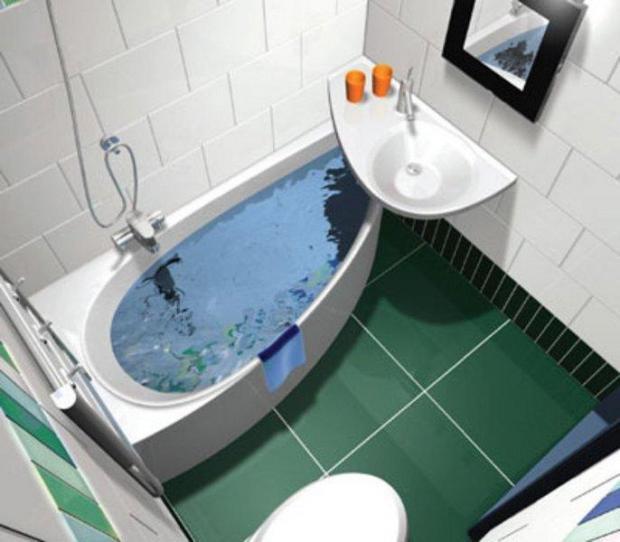 Ванна ремонт идеи