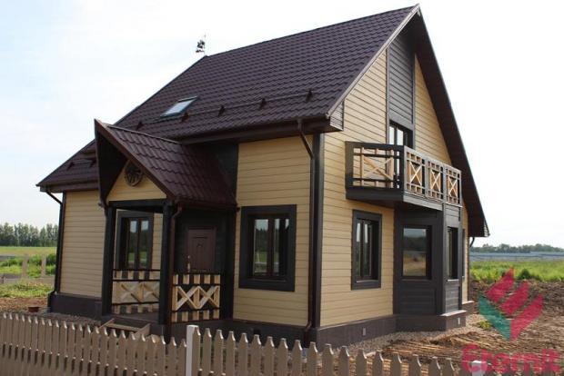 Дизайн домов сайдинг фото