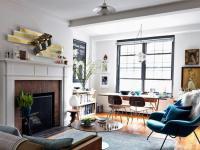 Семидесятиметровая квартира, которую легко убирать
