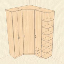 Как сделать угловые шкафы своими руками