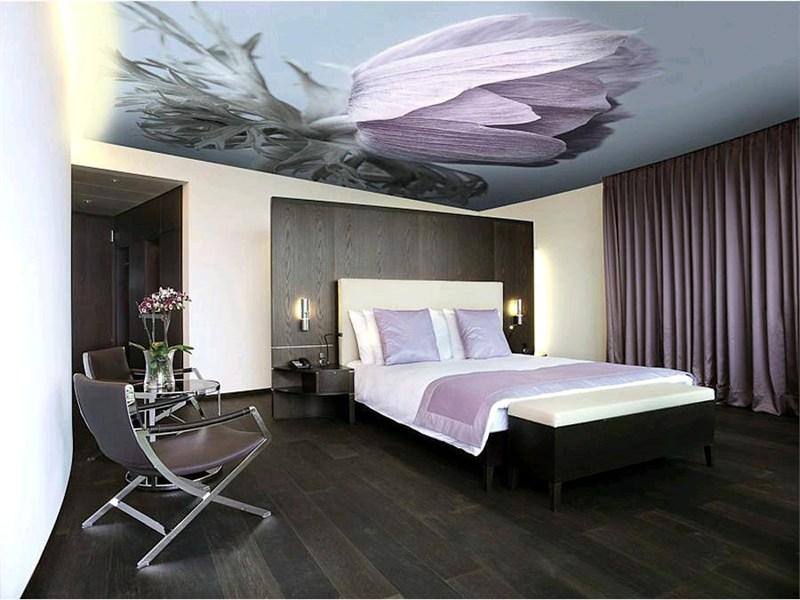 Дизайн потолков в спальню