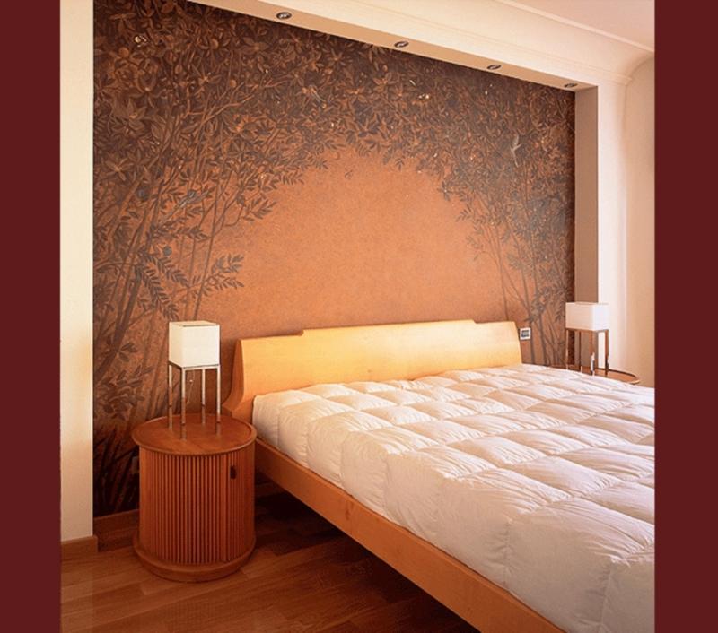 фотообои на стену в спальню: