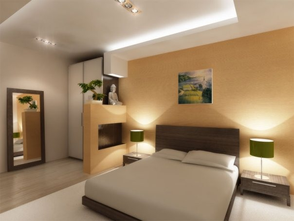 Интерьер комнаты из камня