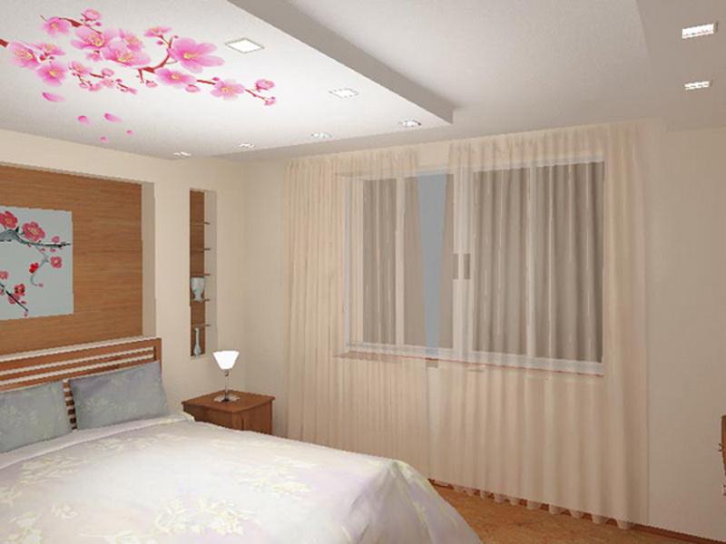 Цветок органзКаркас для потолка из гипсокартона своими