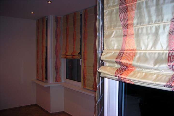 Как шить римские шторы дизайн интерьера.