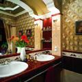 Ванная комната в стиле ампир: пышность и сдержанность римских традиций