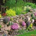 Подпорные стенки своими руками: декорируем сад