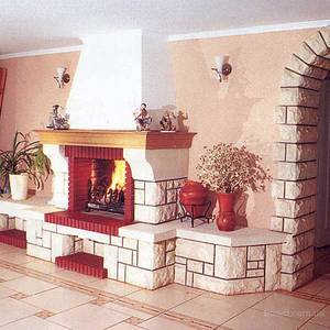 О каминах и печах в домашних интерьерах
