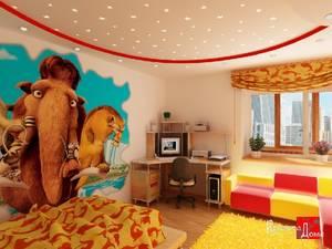 Готовим стены в детской комнате