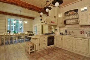 Как оформить кухню в стиле шале