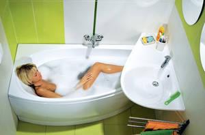 Особенности оборудование небольшой ванной комнаты
