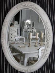 Зеркало в стиле прованс: сначала простота, а потом красота