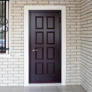Какой материал выбрать для утепления двери?