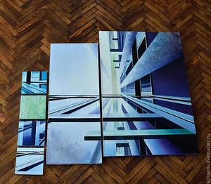 Картины в стиле хай-тек: декор стен и функциональная принадлежность фотографий
