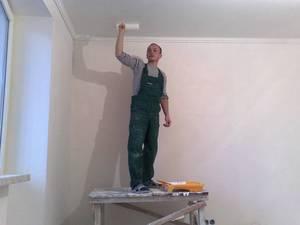 Натяжной потолок или побелка