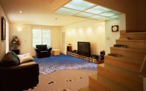Наливные полы как декор дома
