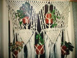 Подвесные горшки для цветов сделать своими руками