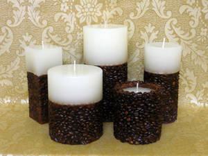 Свечи декоративные: сочетание запахов