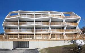 Балконы-зигзаги: не это ли дома 22 века?