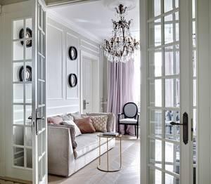 Квартирка в парижском стиле Юрия Чернобривцева