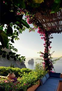 Дом на Капри итальянского архитектора Маттео Туна