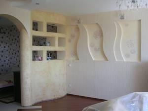 Строительные работы с применением гипсокартона