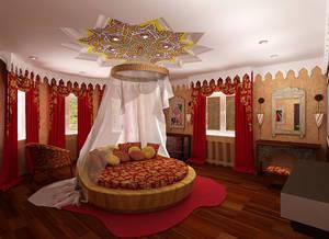 Арабский стиль в дизайне спальни