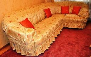 Чехол на угловой диван своими выкройка фото 234