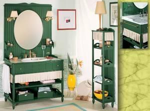 Мебель для ванной комнаты: стиль и зеркало вы выбираете сами