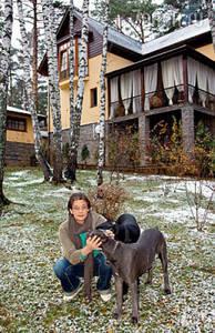 Дом Александра Домогарова: 4 года за городом