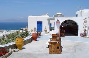Дом в греческом стиле
