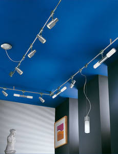 Экспозиционные светильники в квартирах большого размера