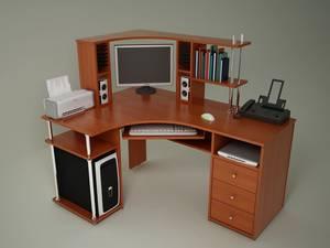 Как выбрать удобный компьютерный стол