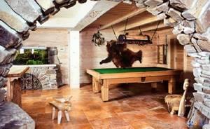 Декоративные шкуры животных в интерьере дома