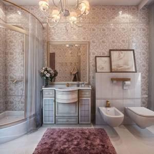 Ванные комнаты в классическом стиле: на что намекает современность