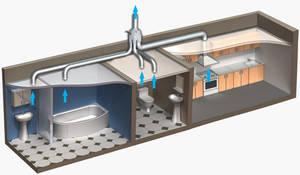 Убираем влагу из ванной комнаты, или маленькие секреты домашней вентиляции