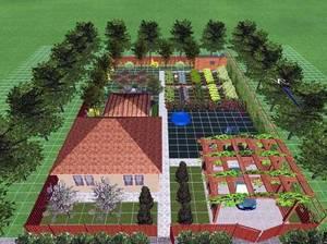 Садовый интерьер современного поместья