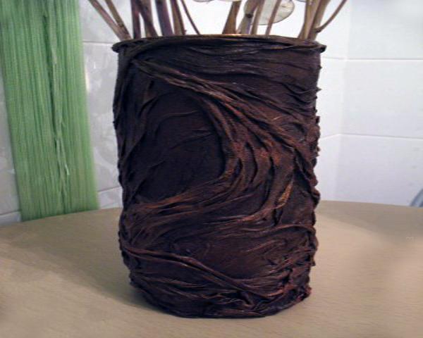 Сделать вазу из бумаги своими руками