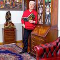 Дом Владимира Винокура: картины, картины и еще раз картины