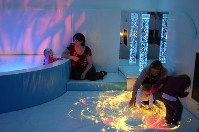 Сенсорная комната для детей до года жизни