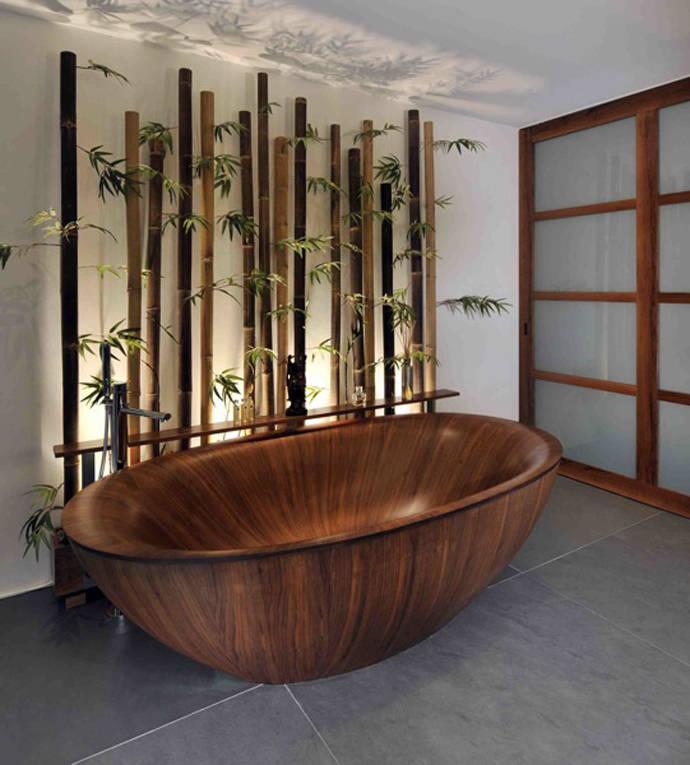 аренде дизайн с природным камнем фото и бамбуком вскоре ушла