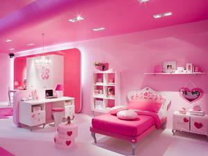 Оформляем детскую комнату в стиле барби